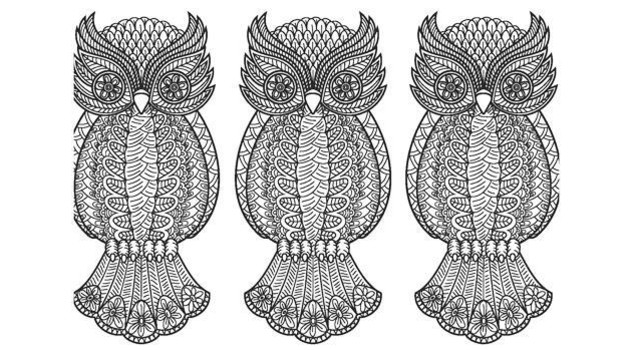 Disegni e pennarelli colorare il nuovo anti stress for Mandala da colorare con animali