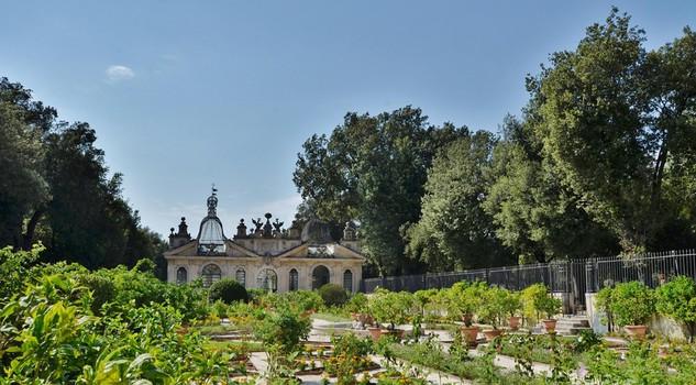Il giardino segreto della galleria borghese giardino passioni lifestyle - Il giardino segreto roma ...