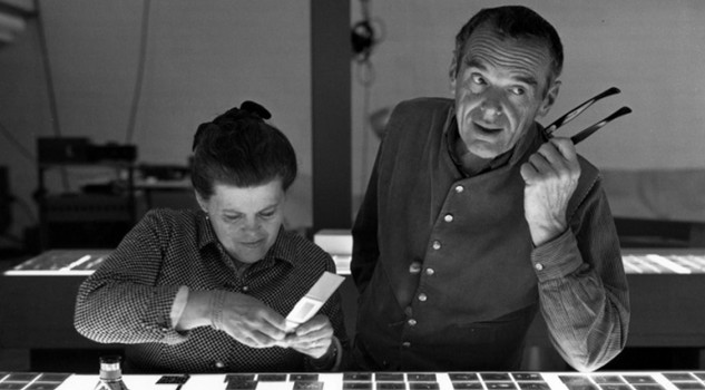 Charles Eames con Ray Kaiser