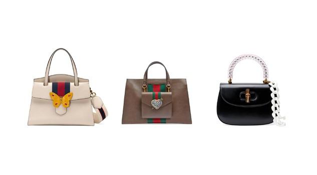 48e8a6ce859ae7 La nuova collezione di borse Gucci Cruise propone un look romantico, con  richiami all'oriente e all'iconico stile della maison. Due le nuove linee.