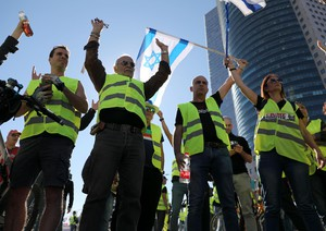 Yellow vest protests in Israel