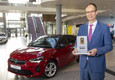 Opel Corsa riceve il premio 'Connected Car Award 2019' (ANSA)