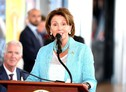 Nancy Pelosi at Expo 2015 (ANSA)