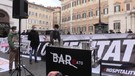 A Montecitorio in scena l'ultimo cocktail del 'BARrato', il bar che non c'e' piu' (ANSA)