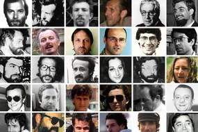 I volti dei 30 giornalisti italiani uccisi (ANSA)