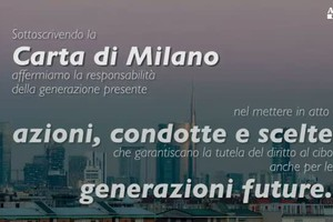 Carta di Milano, il video-spot (ANSA)