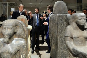 Turin's Egyptian Museum, inauguration of new guided tour (ANSA)