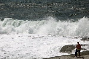 Strong winds in Sardinia (ANSA)