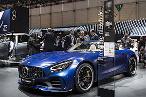 Dall'Inferno Verde a Ginevra ecco Mercedes-AMG GT-R Roadster (ANSA)