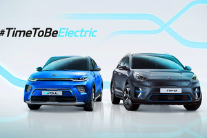 Kia festeggia e-Niro ed e-Soul con It's Time To Be Electric (ANSA)