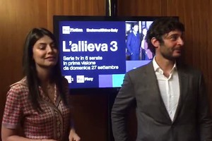 Mastronardi e Guanciale in tv: