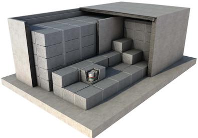 Nucleare, il Deposito Nazionale delle scorie nucleari (ANSA)