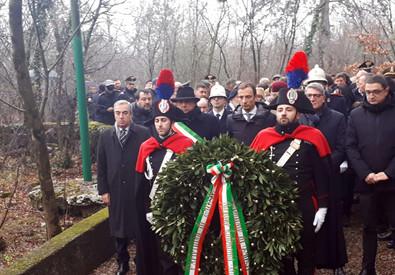 Foibe: iniziate a Trieste commemorazioni Giorno Ricordo (ANSA)