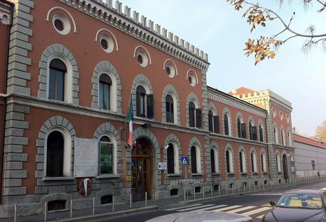La facciata del carcere di San Vittore a Milano © ANSA