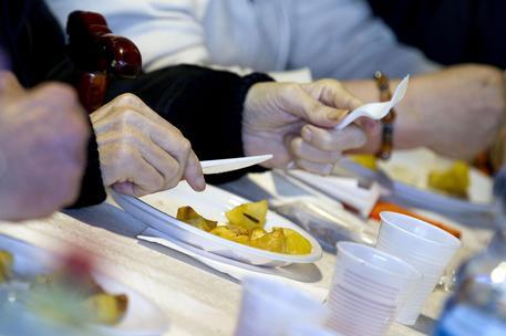 Una mensa dei poveri © ANSA