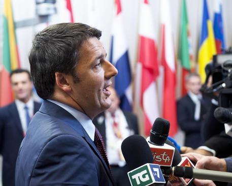 Il presidente del Consiglio Matteo Renzi a Bruxelles per il Consiglio Europeo ANSA/BARCHIELLI/ATTILI/UFFICIO STAMPA PALAZZO CHIGI (foto: ANSA)