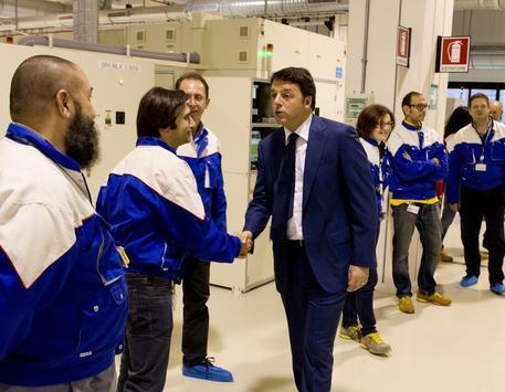 Renzi in visita a Catania: