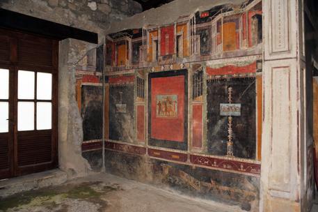 Pompei - Casa di Marco Lucrezio Frontone (Foto Soprintendenza Speciale Archeologica di Pompei, Ercolano e Stabia) (foto: ANSA)