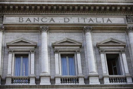 Una veduta di Palazzo Koch, sede centrale della Banca d'Italia © ANSA