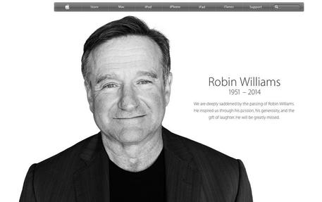 Robin Williams: Apple gli dedica pagina (foto: ANSA)