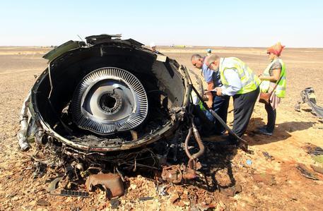 ++ Aereo Sinai: usato esplosivo di tipo militare C4 ++ © EPA