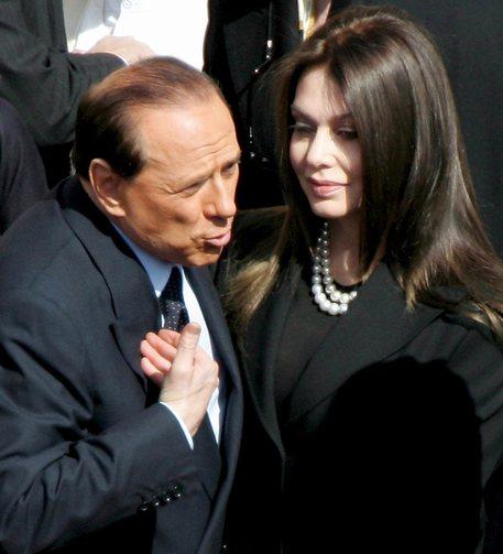 Veronica Lario e Silvio Berlusconi © EPA