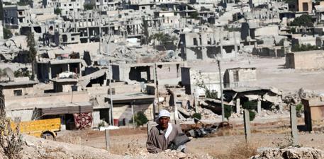 Kobane distrutta © EPA