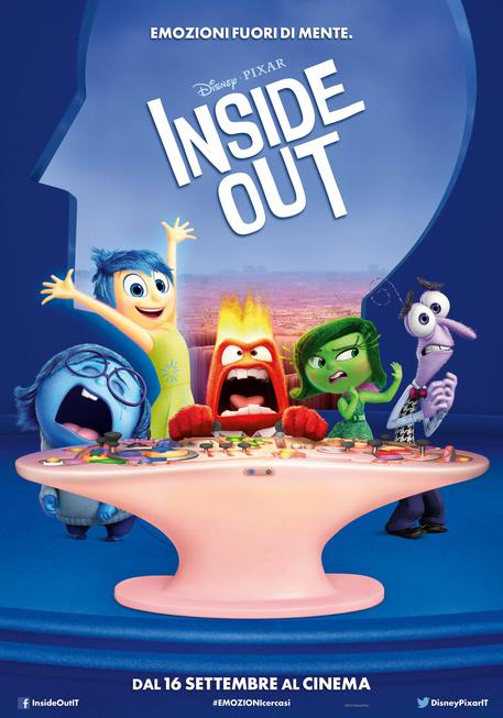 Inside Out poster © ANSA
