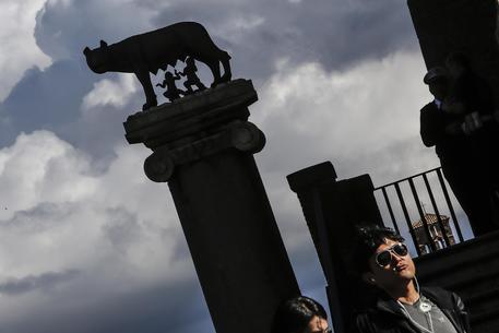 La statua della Lupa Capitolina © ANSA