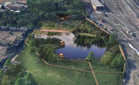 Zingaretti, ok all'ampliamento del monumento naturale ex Snia thumbnail