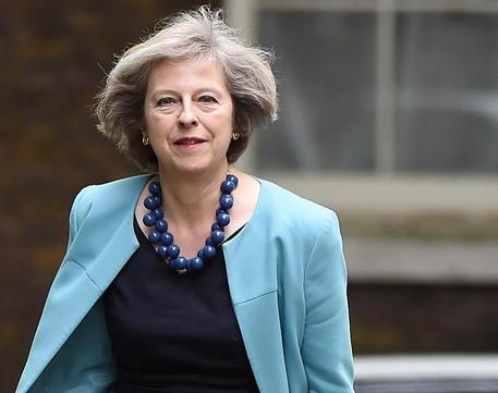 Theresa May lancia la sfida per la leadership dei tories © EPA