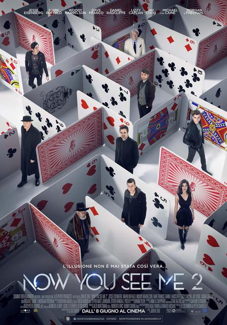 Now You see me 2, il poster © ANSA