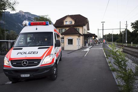 Svizzera: attacco a un treno © EPA