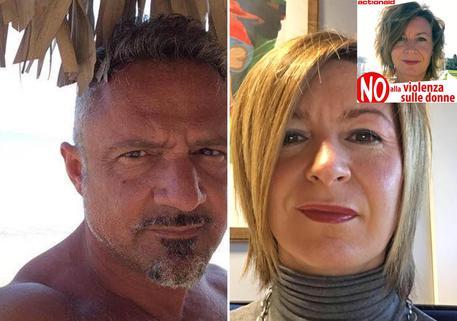 Paolo Cocconi, la vittima Arianna Rivara e il post su Fb della donna © ANSA
