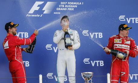 F1: Vettel stretches lead over Hamilton with Russia 2nd spot