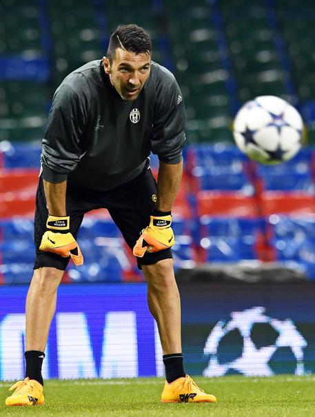 Juventus: Buffon torna ad allenarsi - Piemonte - ANSA.it