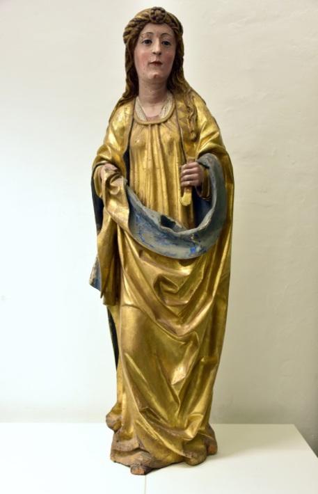 Statua di S.Agata rubata restituita ad Arcidiocesi Trento