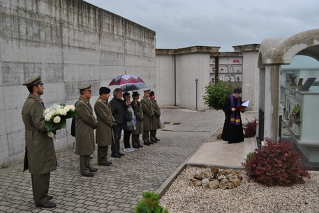Commemorati militari caduti all'estero. Cerimonie in ricordo di Alessandro Di Lisio e Giulio Ruzzi