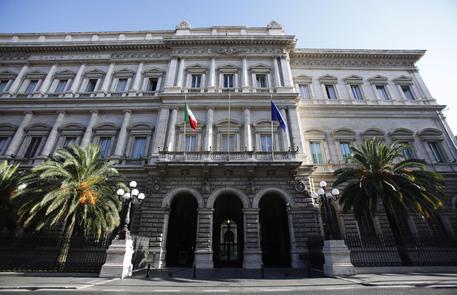 La sede della Banca d'Italia, Palazzo Koch, in un'immagine d'archivio (archivio) © ANSA