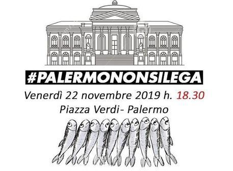 Le Sardine sbarcano anche a Palermo: manifestazione venerdì$