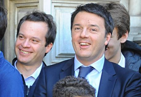 Matteo Renzi e Marco Carrai © ANSA