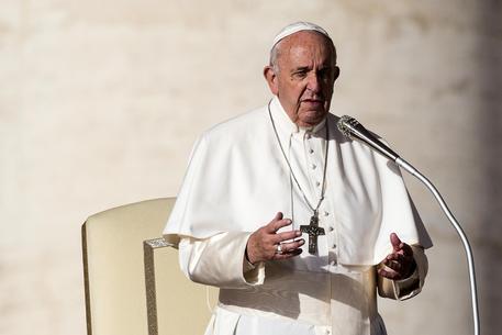 Papa Francesco in una foto di archivio © ANSA