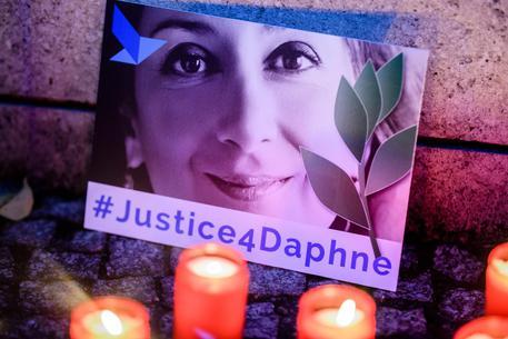 'Justice four Daphne' © EPA