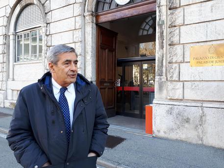 Il presidente della Regione Valle d'Aosta, Antonio Fosson © ANSA