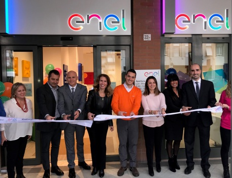Inaugurato Nuovo Punto Enel A Terni Umbria Ansa It