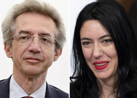 Lucia Azzolina e Gaetano Manfredi © ANSA