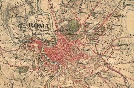 Cartina Nord Italia Google Maps.Come Erano Italia Ed Europa Nell 800 Ecco Google Maps Vintage Software E App Ansa