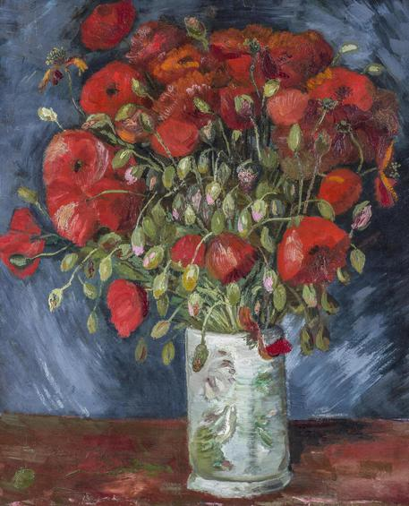 i Papaveri di Van Gogh al museo del Connecticut Dutch, 1853-1890 Poppies, c. © ANSA