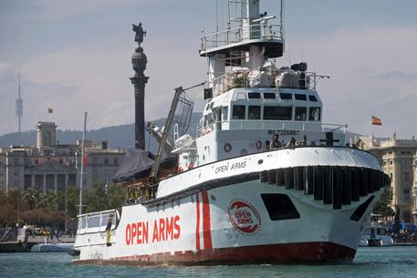 NGO's Proactiva Open Arms ships leaves for the Greek islands [ARCHIVE MATERIAL 20190423 ] © ANSA