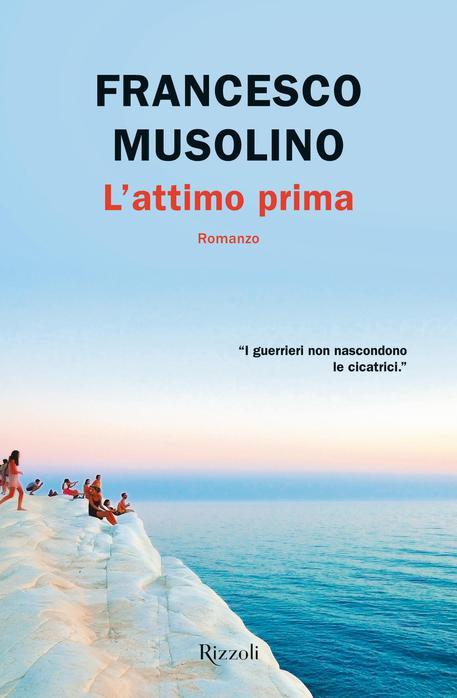 """Risultato immagini per """"L'attimo prima"""" di Francesco Musolino (Rizzoli)"""